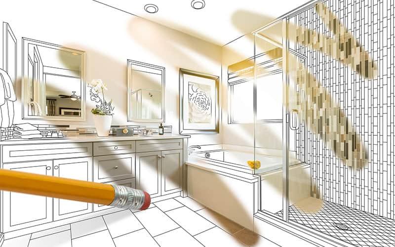 . Bathroom Remodel In Roswell  GA
